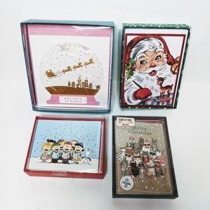 Variety Christmas Holiday Card Set of 24 Cards